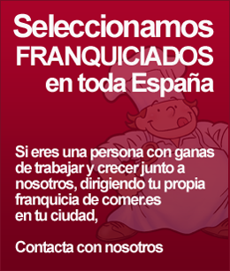 seleccionamos franquiciados comer.es